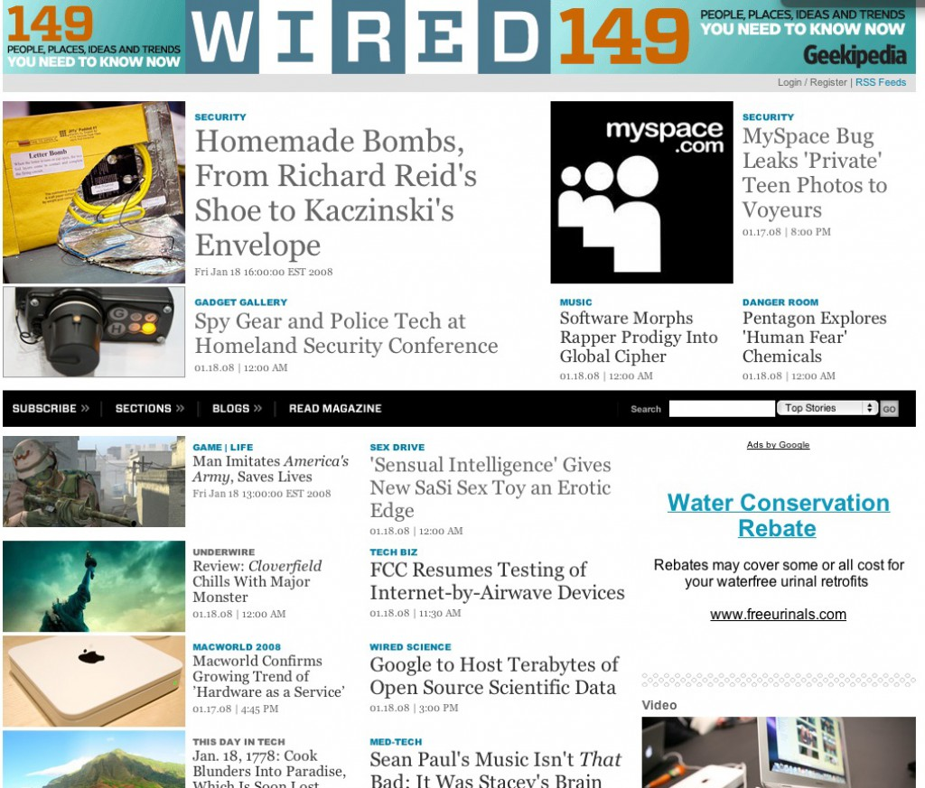 WIRED News Front Door w/ DHS Con Shots
