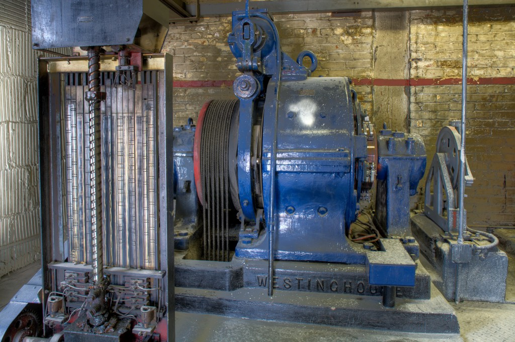 Westinghouse Elevator Motor Buildings In Transition On