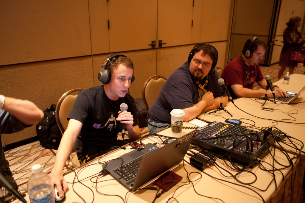Xodia, Jim and Punkrokk from Defcon Radio
