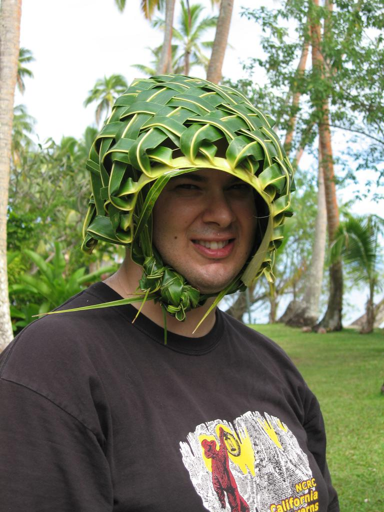 dave in coconut basket hat - Cousteau a7c902cb3e5