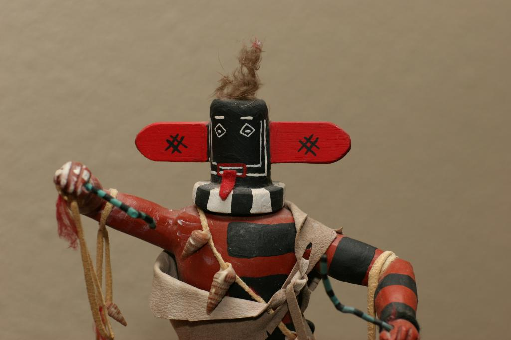 left handed warrior kachina