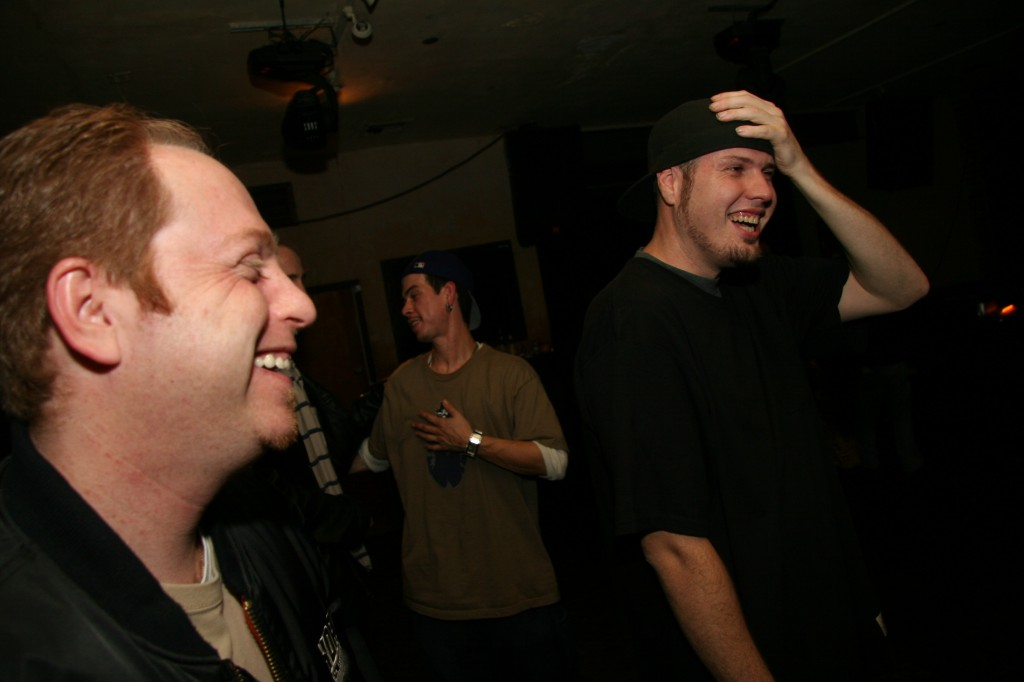 randy j and deacon laughing