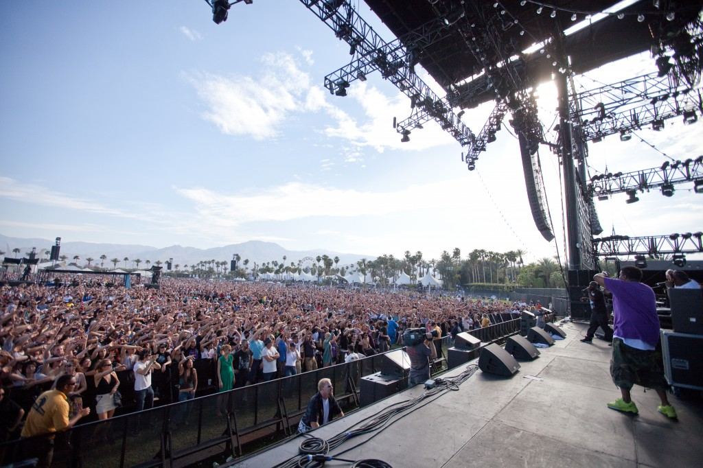 Coachella Crowd for De Le Soul