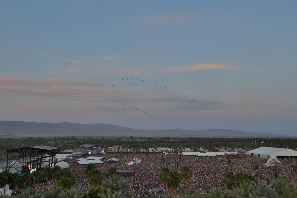 Coachella From On High