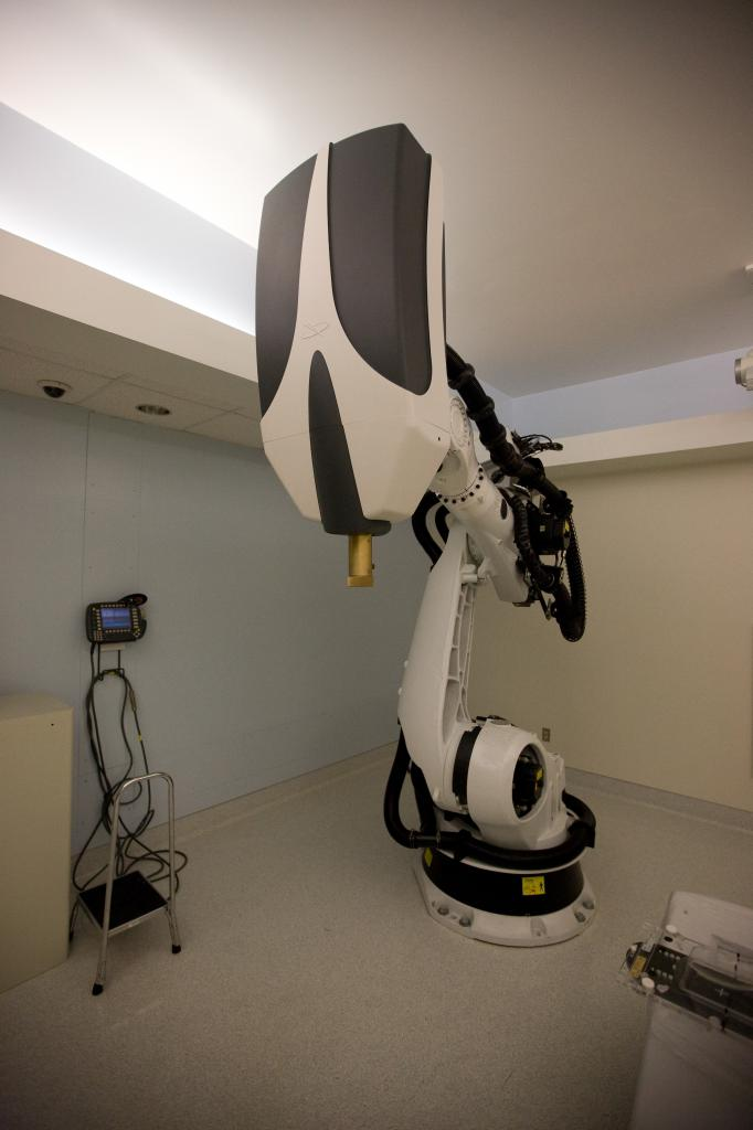 CyberKnife Radiation Oncology Robot at U