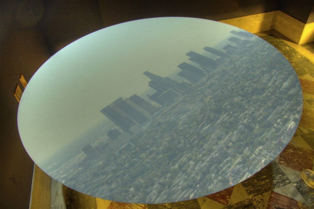 Downtown LA in Camera Obscura