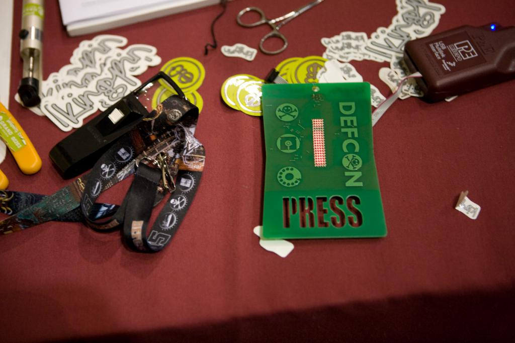 Hacked Defcon Badge