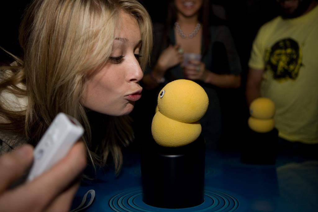 Keepon Gets Kissed