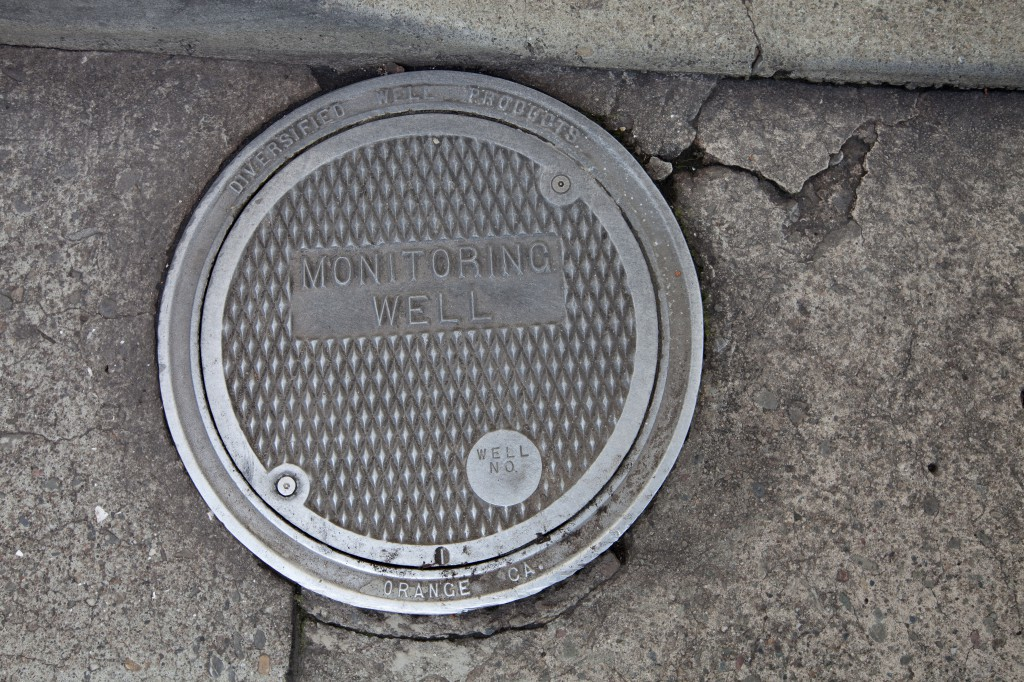 Monitoring Well Manhole Cover