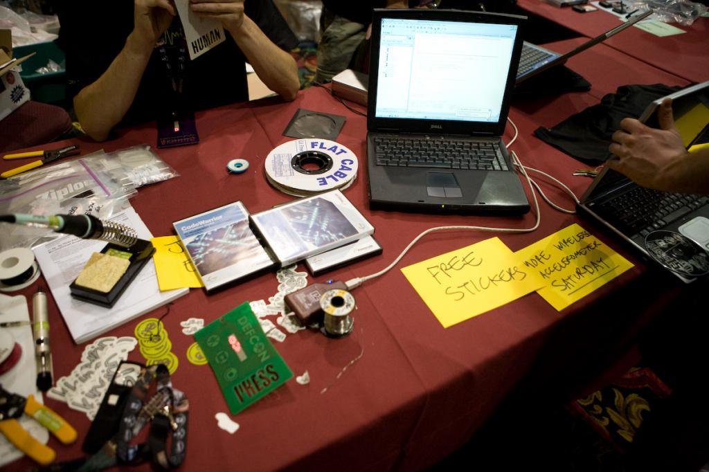 Programming the Defcon Badge
