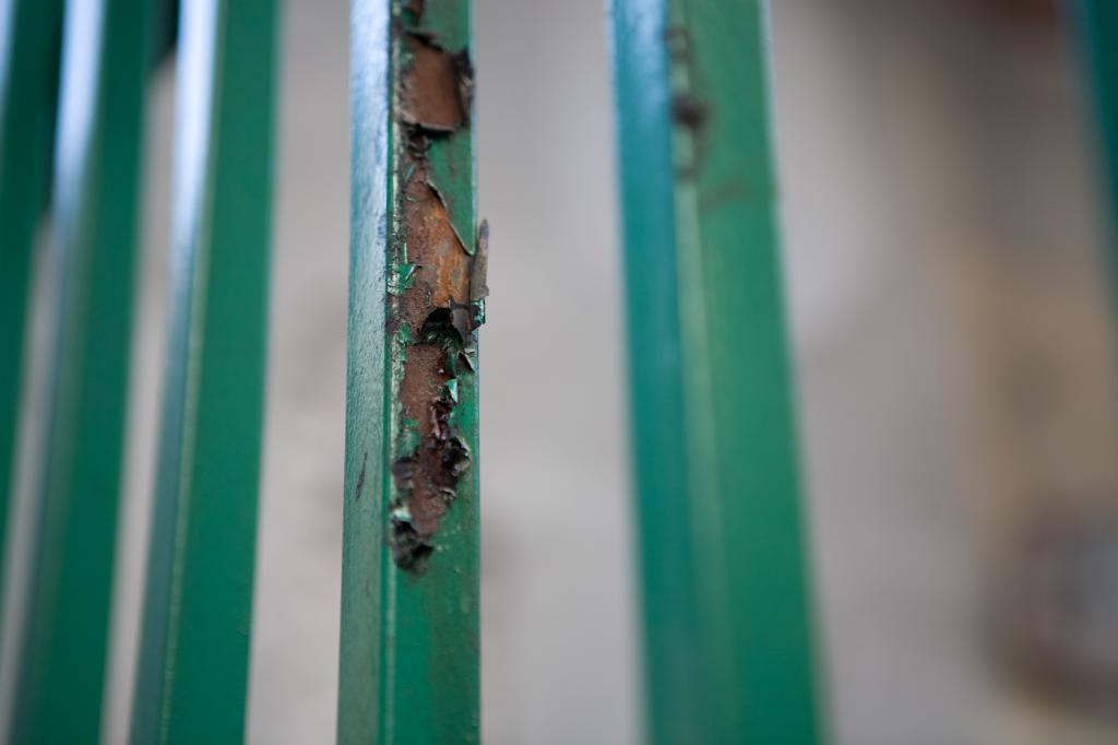 Rusted Fence