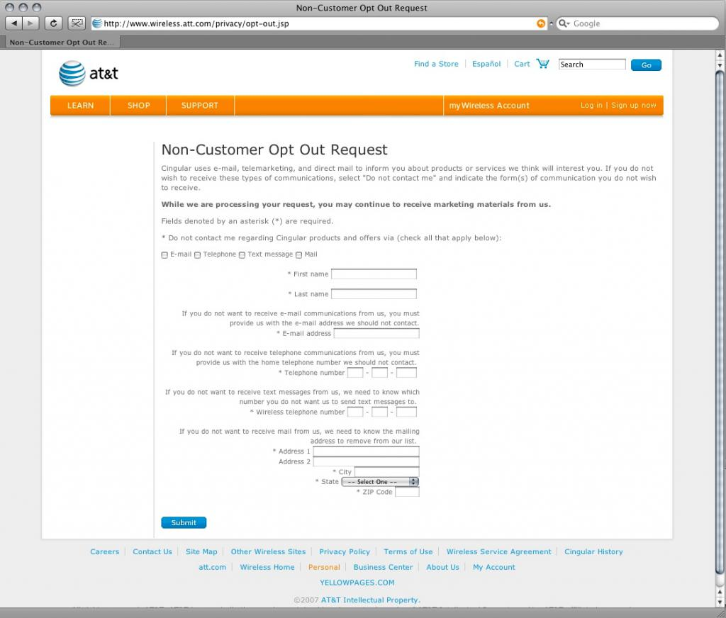 att opt out insanity