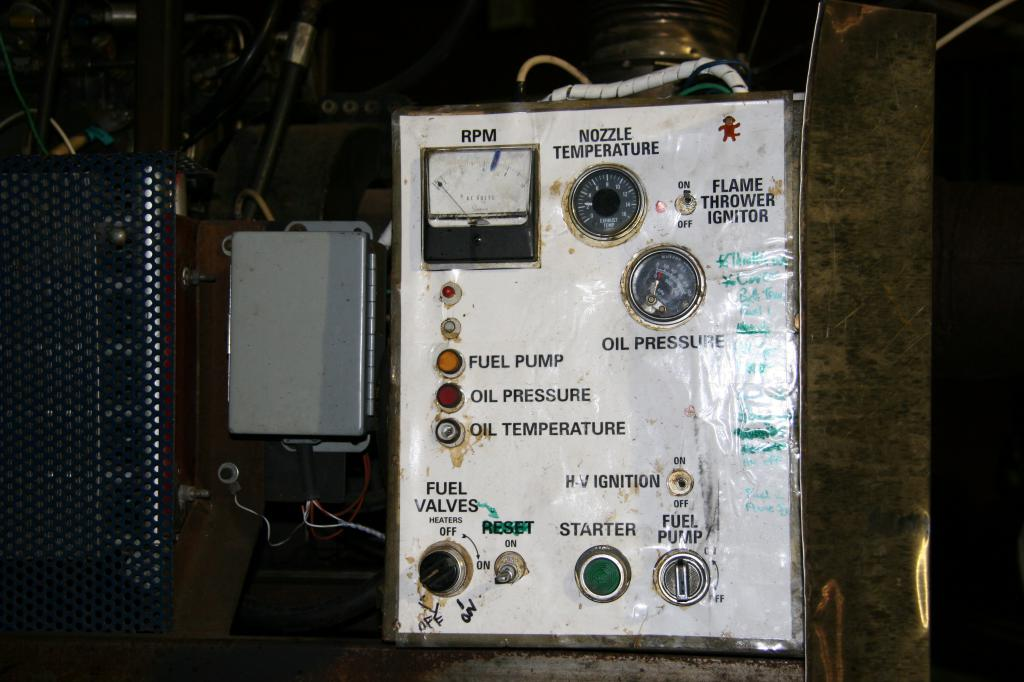 flame whistle control panel